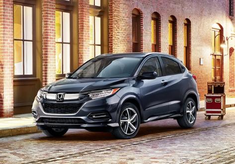2019 Honda HR-V vs 2019 Ford EcoSport near New York City