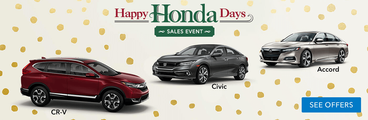 Brooklyn Happy Honda Days Sales Event