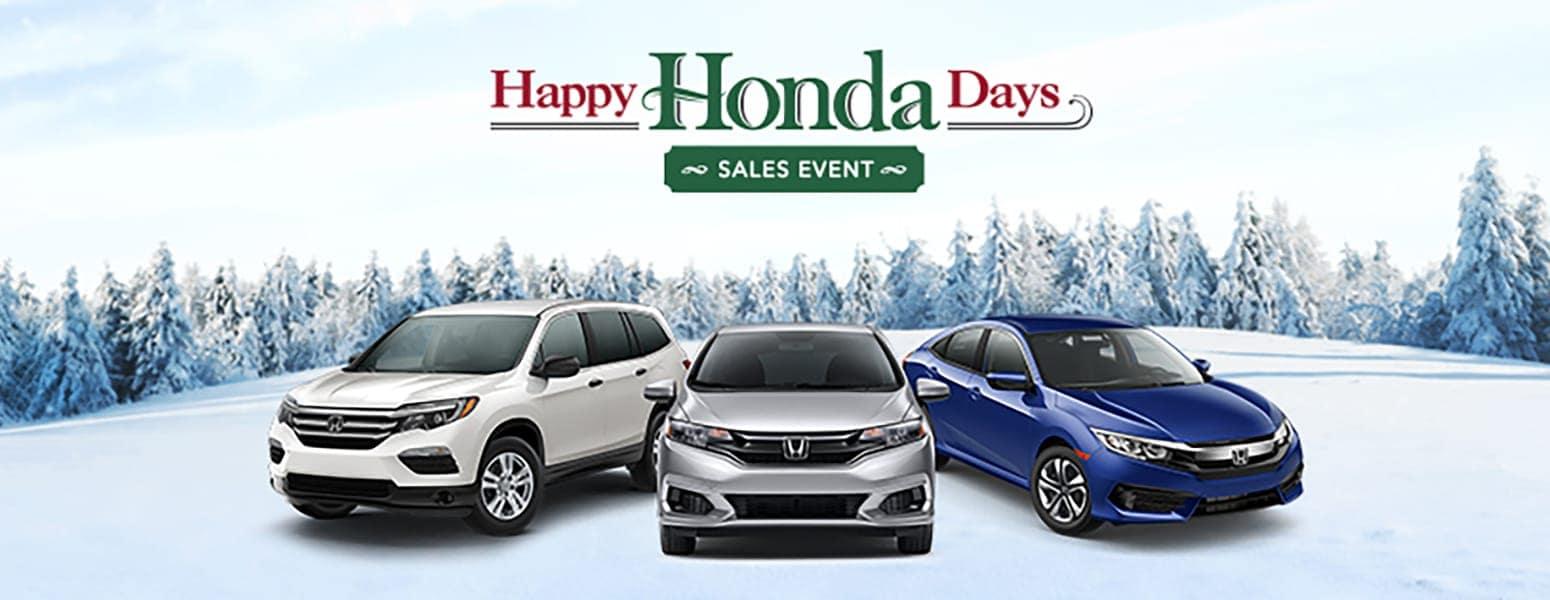 Happy Honda Days Sales Event near New York City