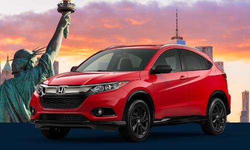 <b>2021 Honda HR-V Sport AWD</b>