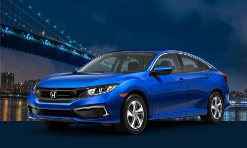 <b>2021 Honda Civic LX CVT</b>