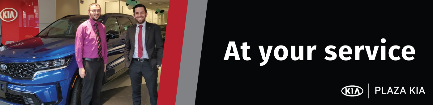 At Your Service Banner
