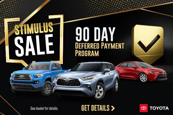 Stimulus Sale