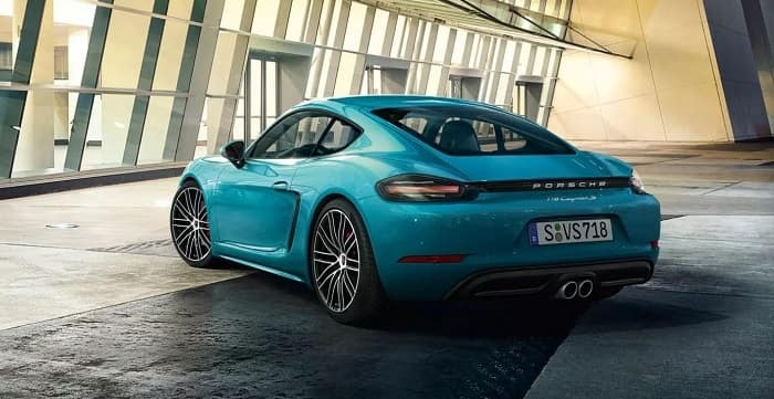 New Porsche 718 Cayman