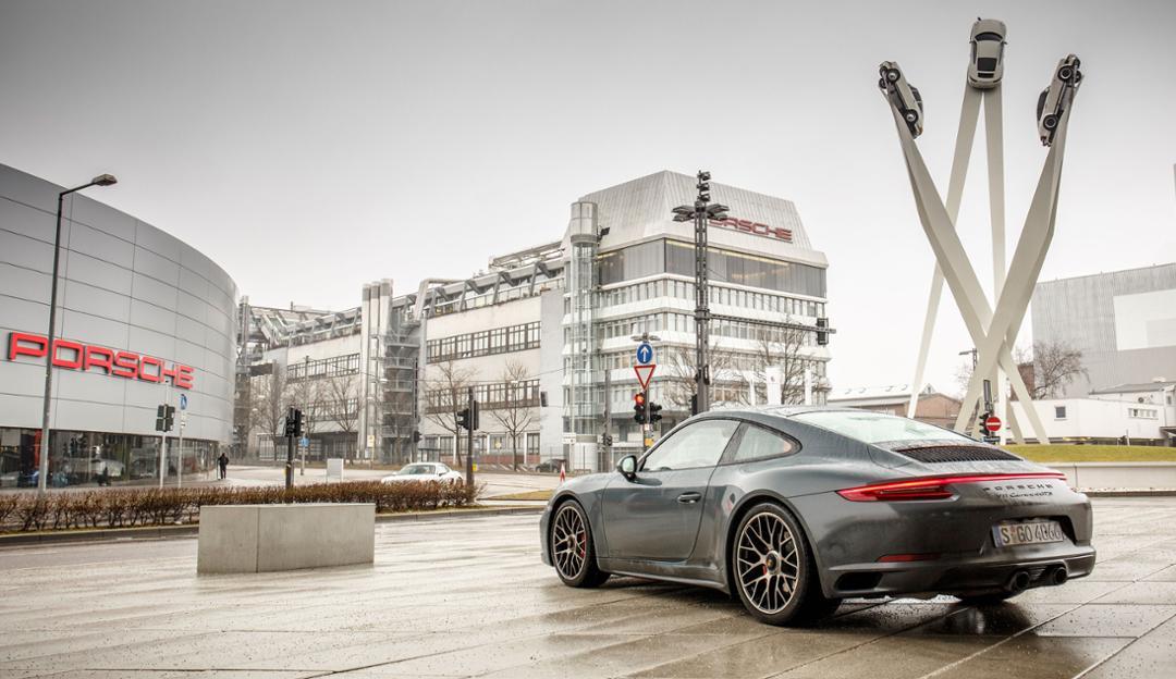 Finding Porsche in Stuttgart