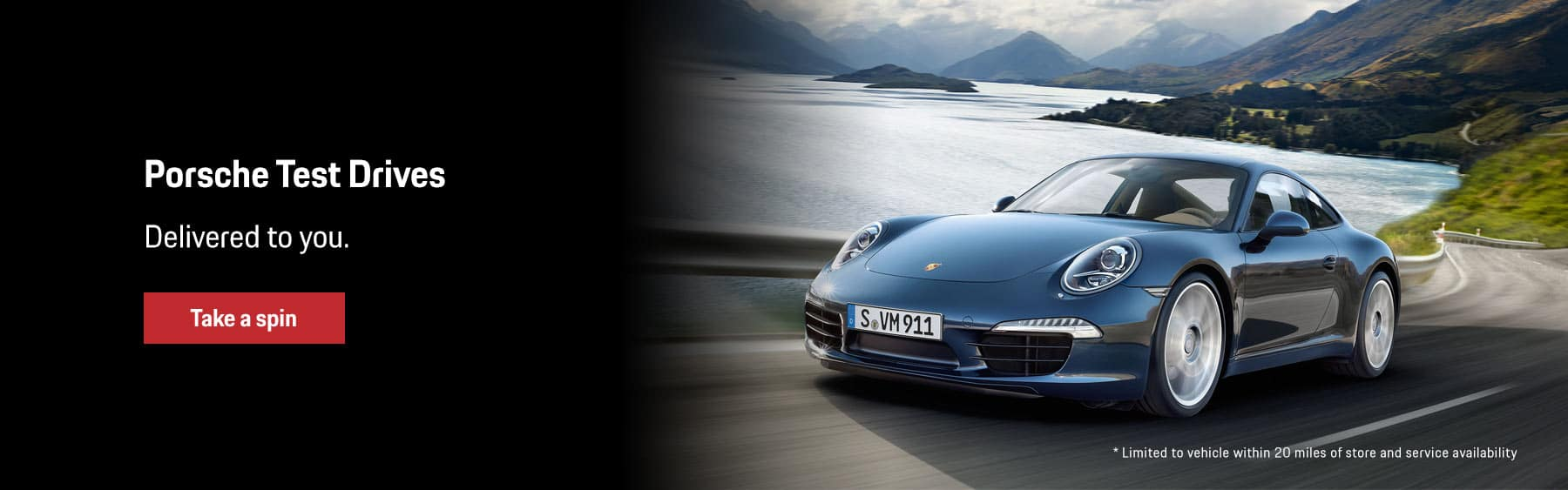 Porsche Test Drives Delivered to You