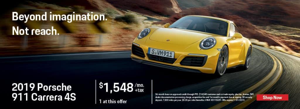 2019 Porsche 911 Carerra 4S