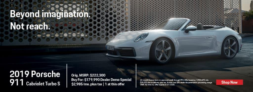 2019 Porsche 911 Cabriolet Turbo S