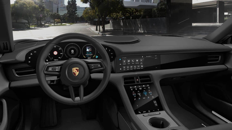 2021 Porsche Taycan-Front Interior
