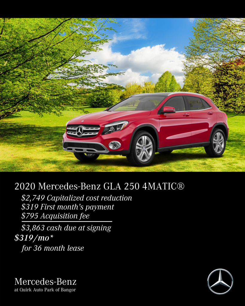2020 Mercedes-Benz GLA 250 AWD 4MATIC®