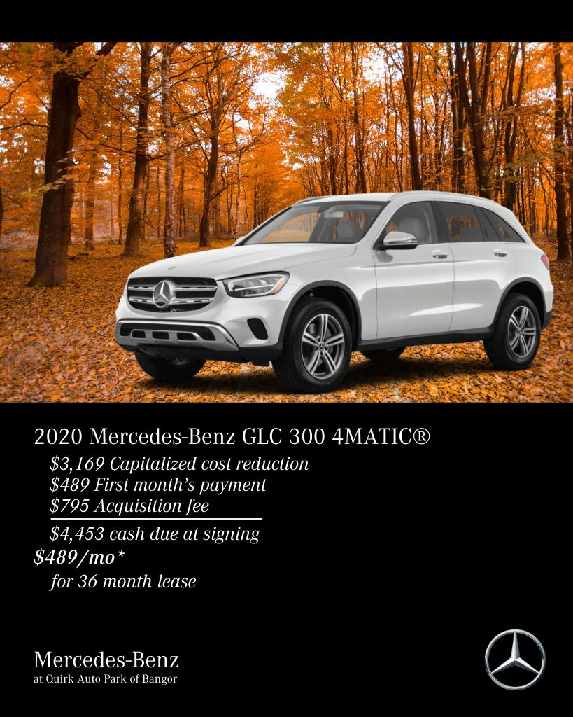 2020 Mercedes-Benz GLC 300 AWD 4MATIC®