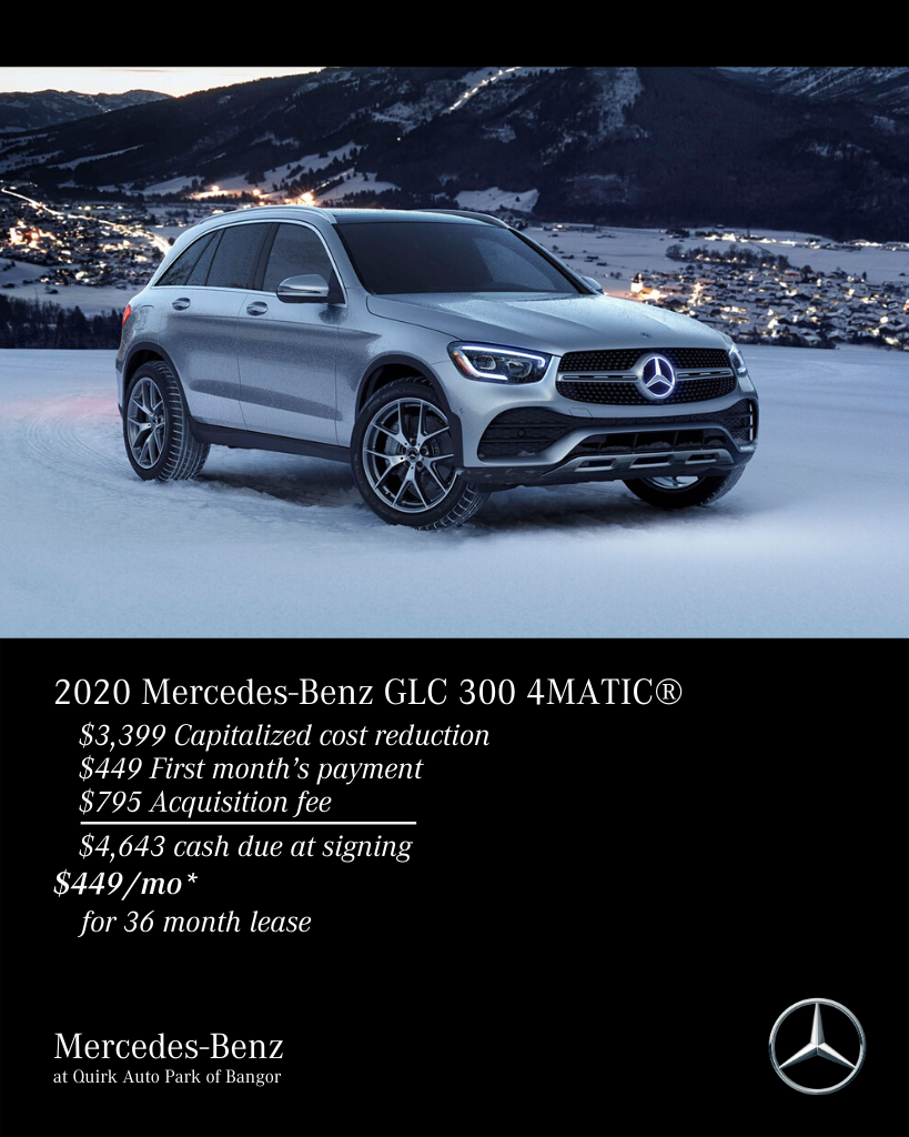 2020 Mercedes-Benz GLC 300 AWD 4MATIC®