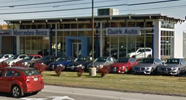 Mercedes-Benz at Quirk Auto Park