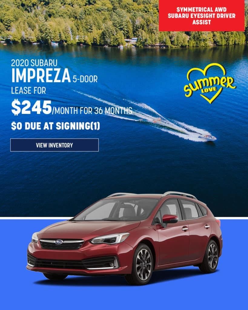 New 2020 Subaru Impreza AWD