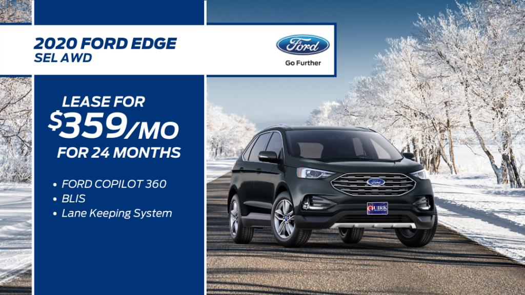 New 2020 Ford Edge AWD