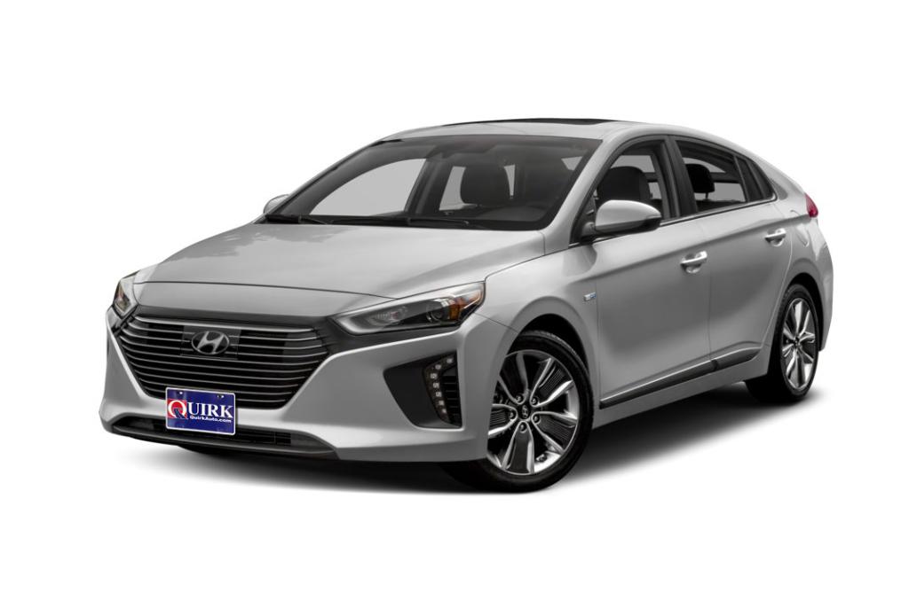 2019 Hyundai Ioniq Hybrid Blue Front-wheel Drive Hatchback
