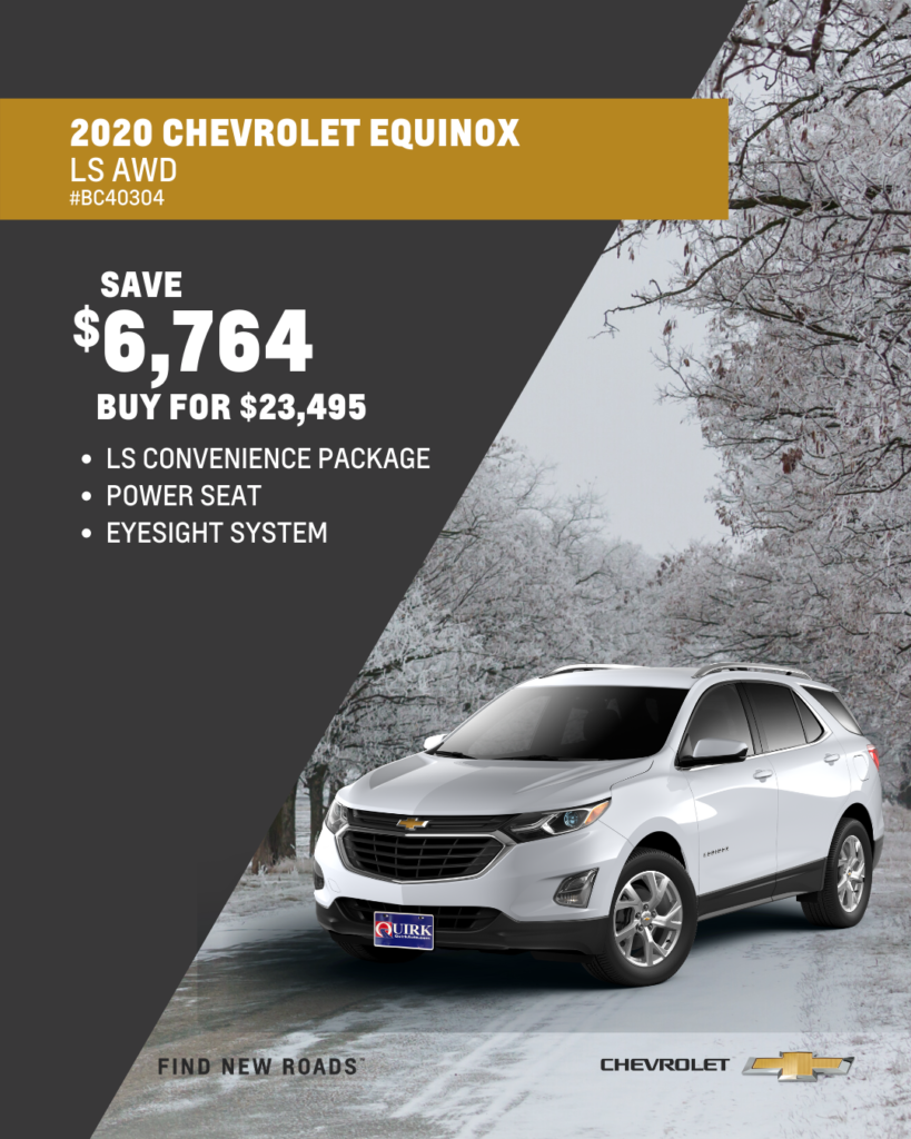 New 2020 Chevrolet Equinox LS AWD