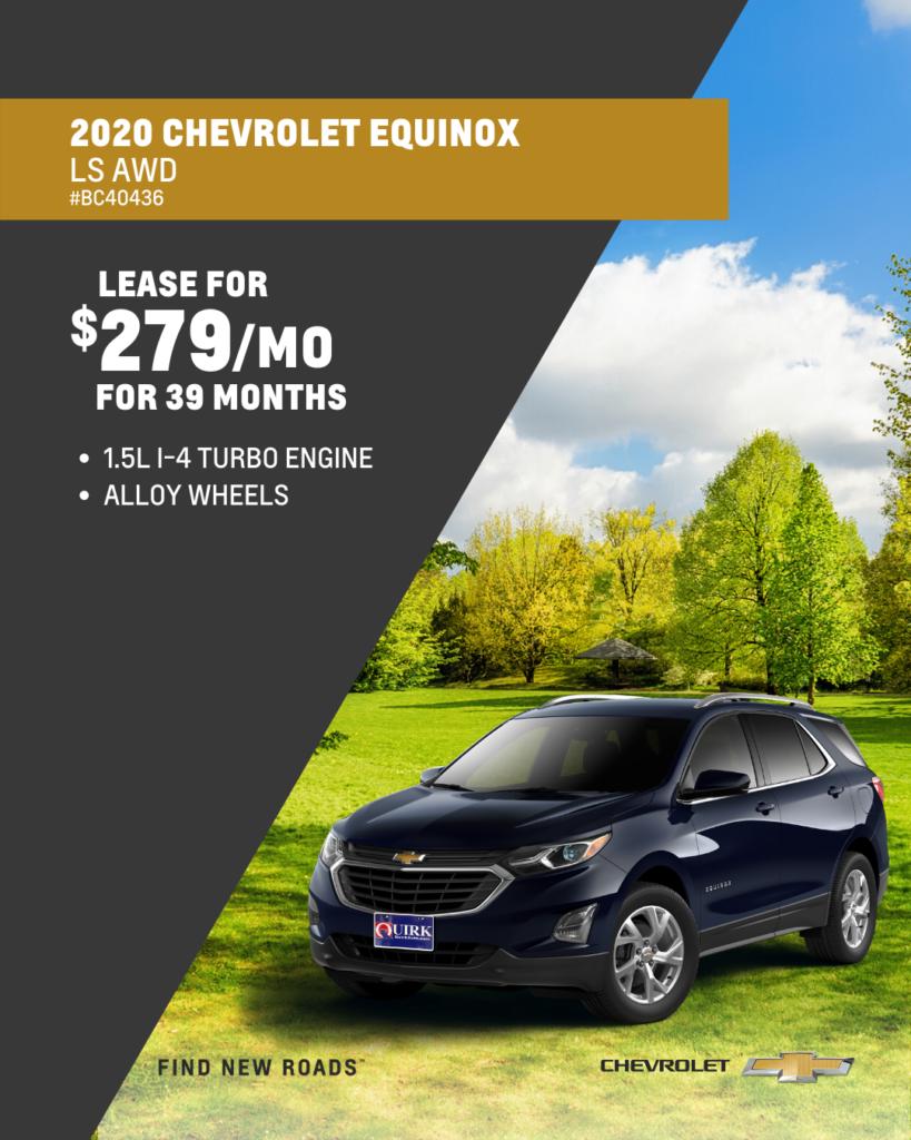 New 2020 Chevrolet Equinox LS AWD