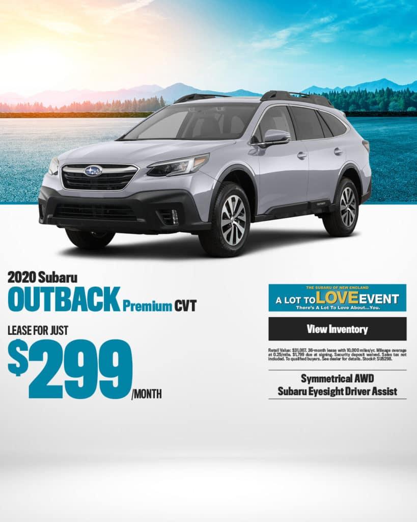 New 2020 Subaru Outback Premium AWD