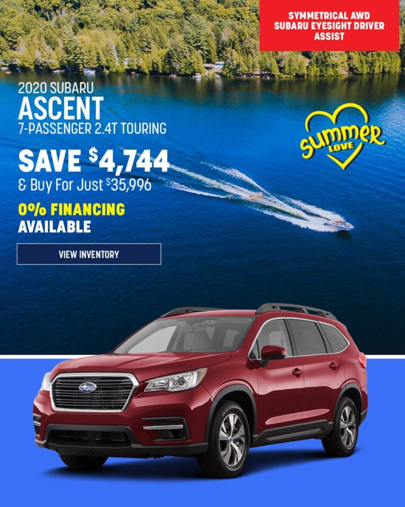 New 2020 Subaru Ascent Limited AWD