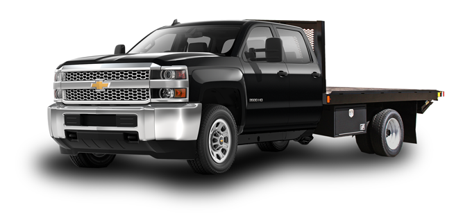 New 2019 Chevrolet Silverado 3500HD Platform Bed WT 4WD