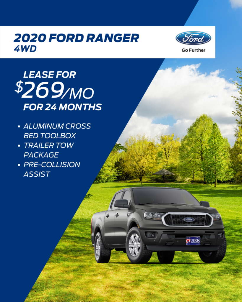 New 2019 Ford Ranger SuperCrew 4WD