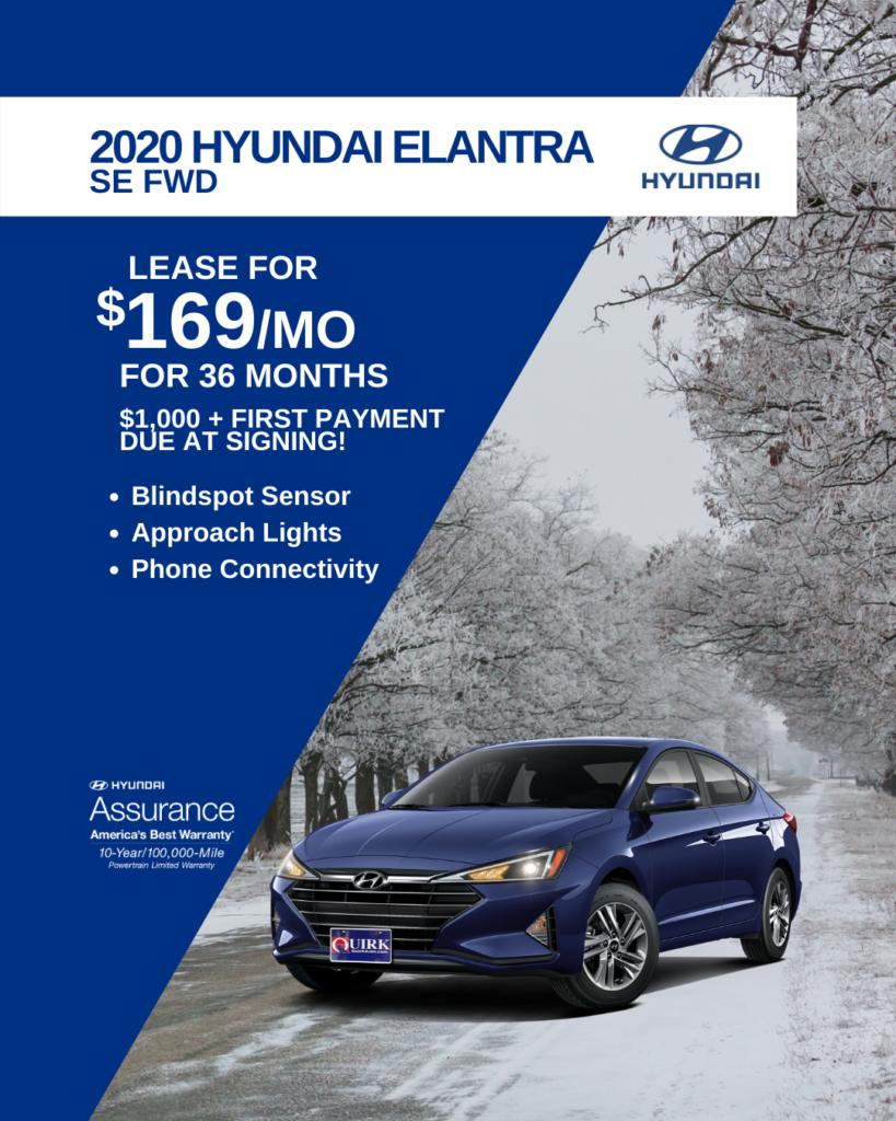 New 2020 Hyundai Elantra SE FWD 4dr Car