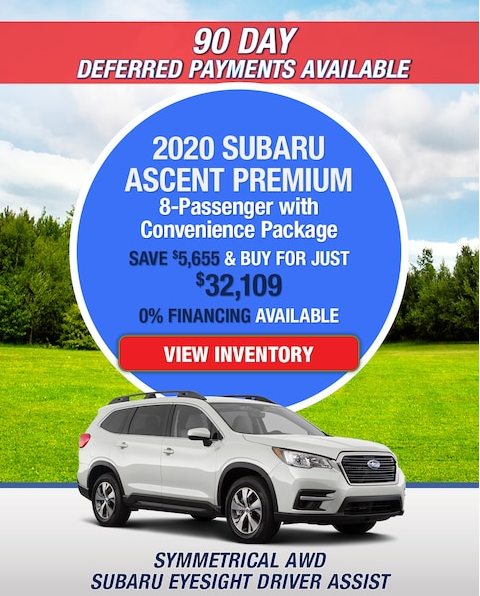 New 2020 Subaru Ascent Premium AWD