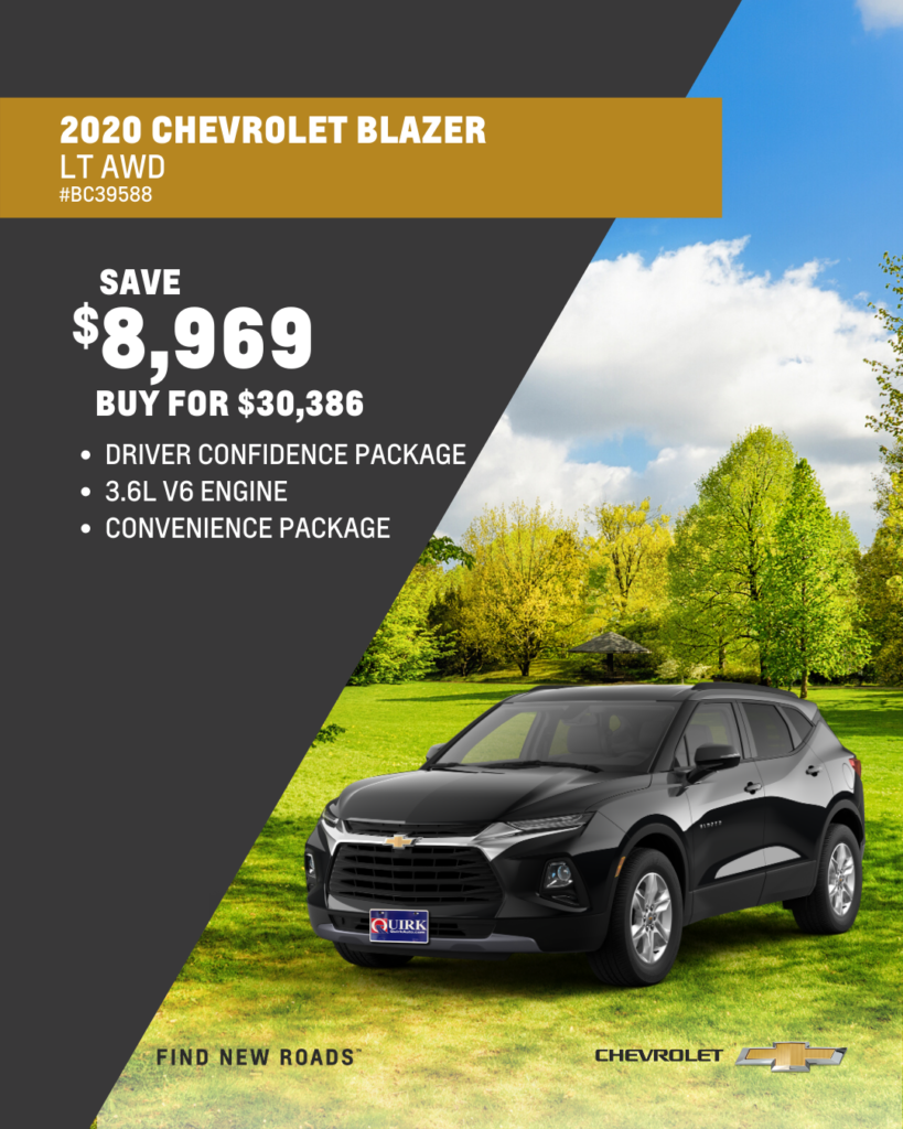 New 2019 Chevrolet Blazer 2LT AWD