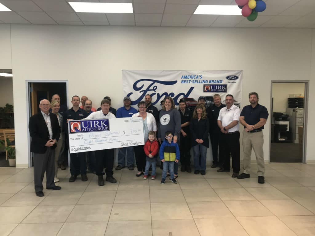 Quirk Ford Augusta Employees Donate To Project Sparrow Quirk