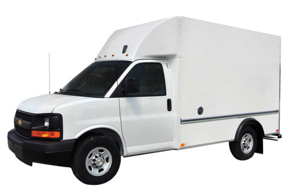 New 2019 Chevrolet Express Commercial Cutaway Unicell Aerocell Body