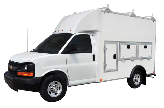 New 2019 Chevrolet Express Commercial Cutaway 10ft. Pro Tool Body