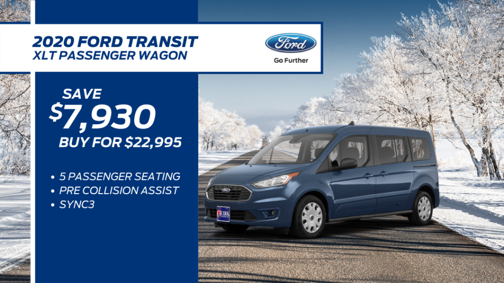 New 2020 Ford Transit Connect Wagon XLT FWD Full-size Passenger Van