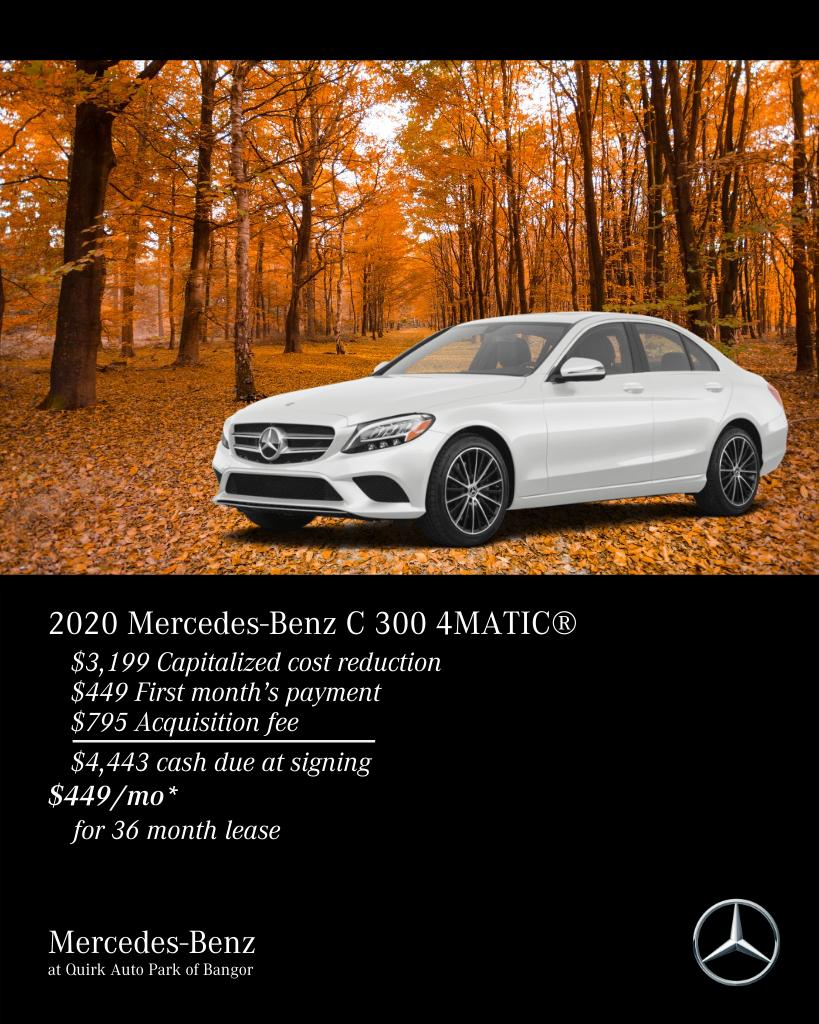 2020 Mercedes-Benz C-Class C 300 AWD 4MATIC®