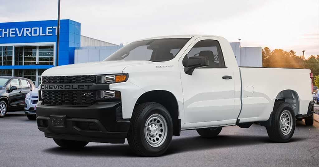 New 2019 Chevrolet Silverado 1500 Work Truck RWD