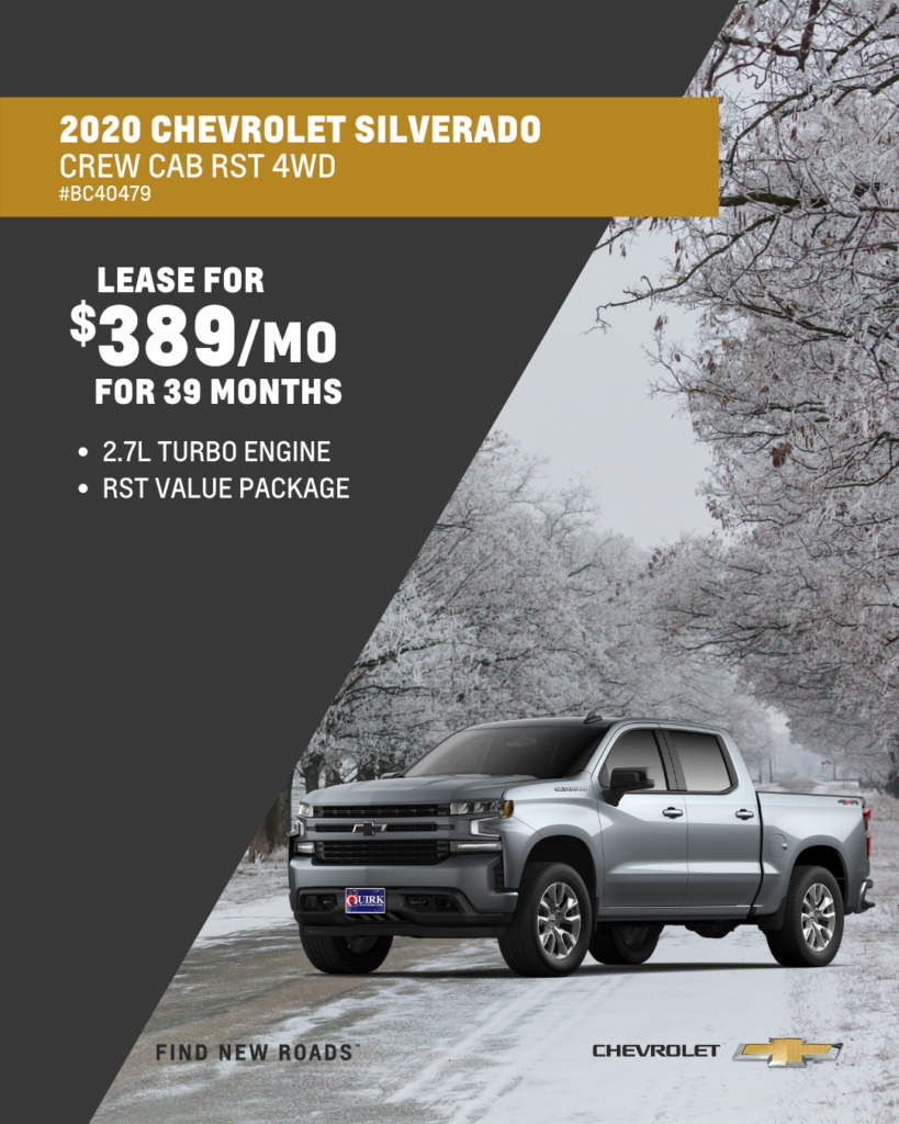 2020 Chevrolet Truck Silverado 1500 Crew Cab RST 4WD