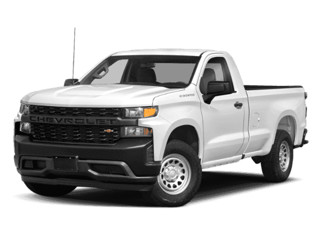 New 2019 Chevrolet Silverado 1500 Regular Cab Work Truck 2WD