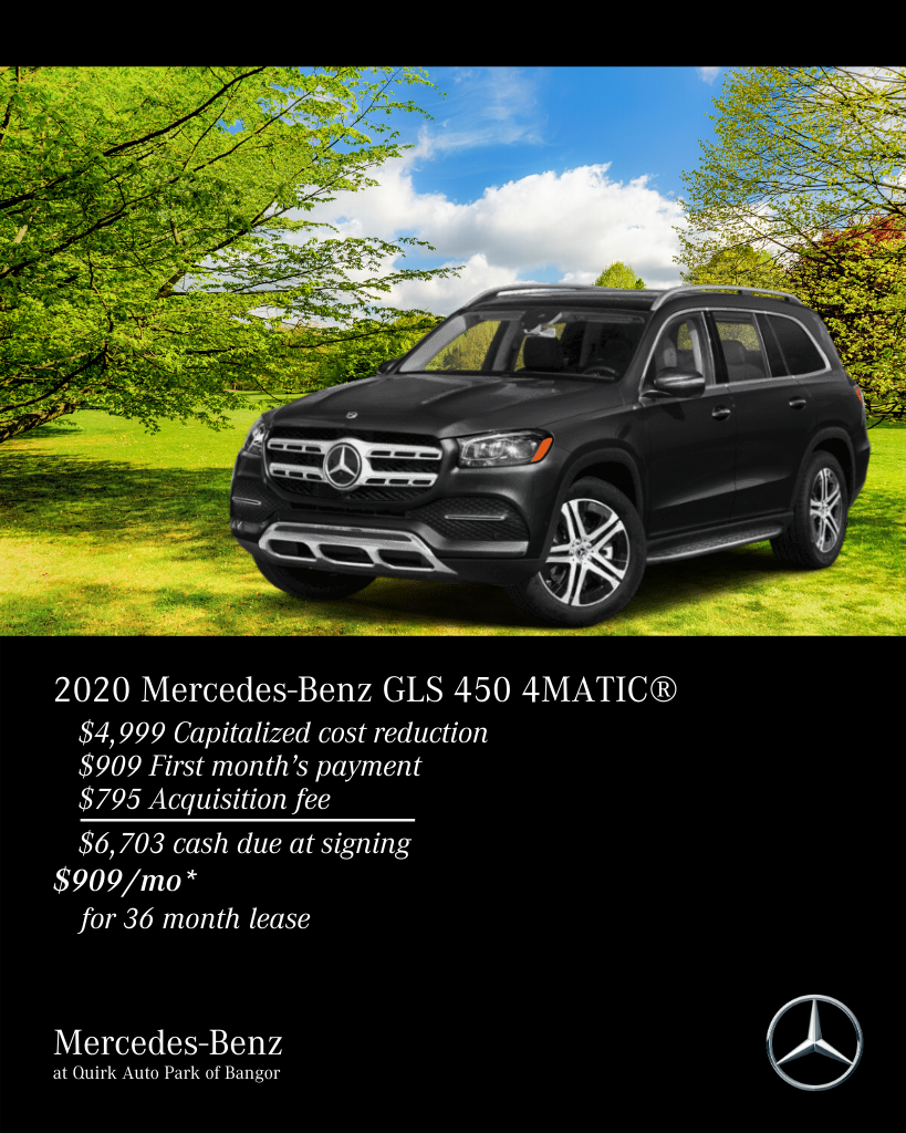 New 2020 Mercedes-Benz GLS 450 4MATIC® AWD