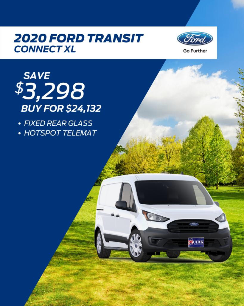 New 2020 Ford Transit Connect Van XL FWD