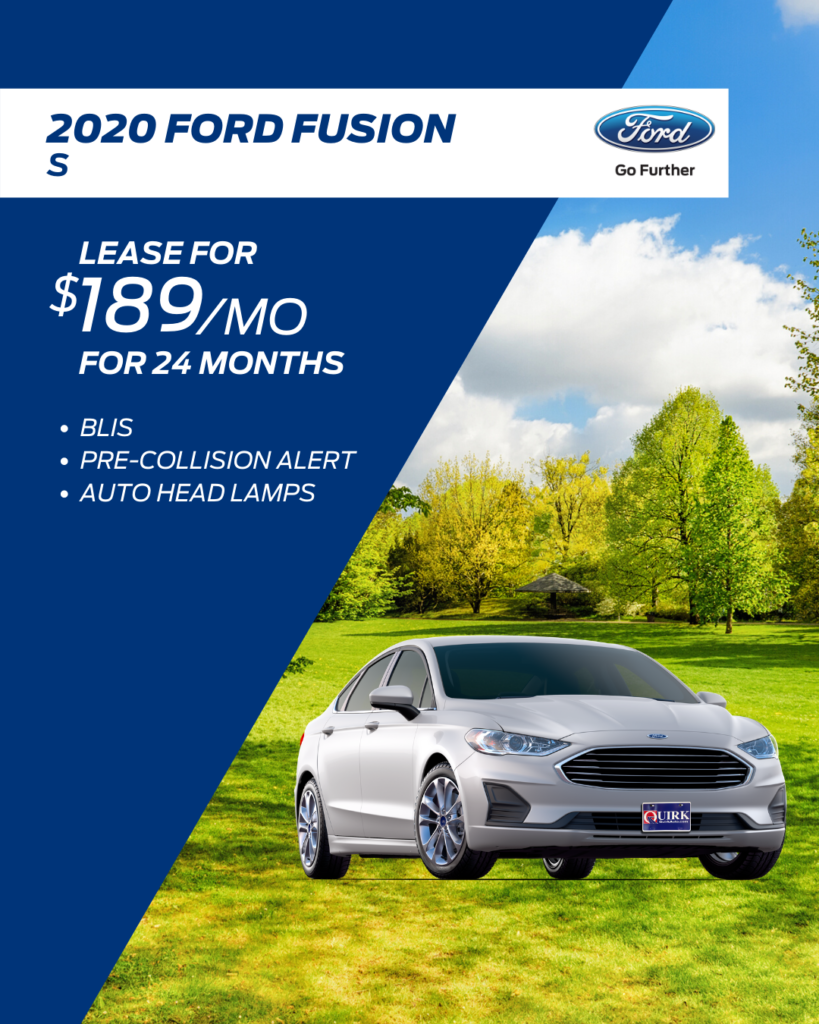 New 2019 Ford Fusion S FWD 4dr Car