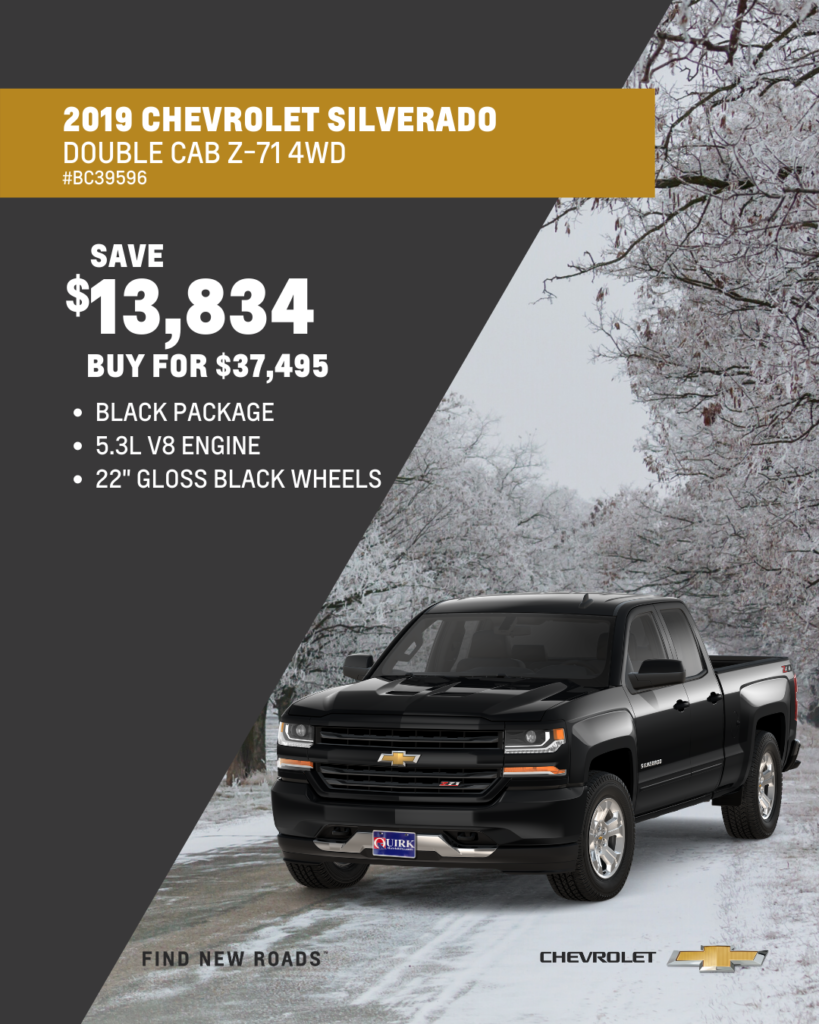2019 Chevrolet Silverado 1500 LD Double Cab LT Z71 All Star Edition 4WD