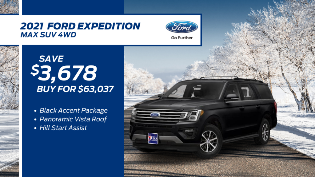 New 2021 Ford Expedition Max XLT 4WD