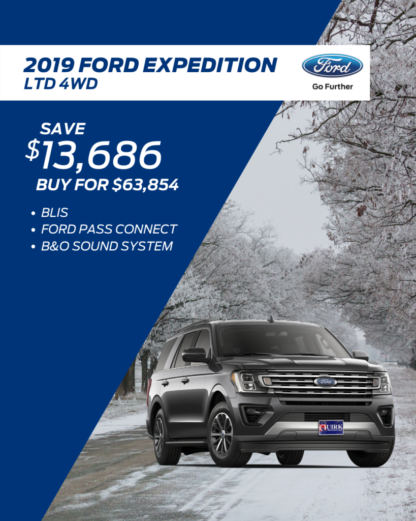 New 2019 Ford Expedition Limited 4WD SUV