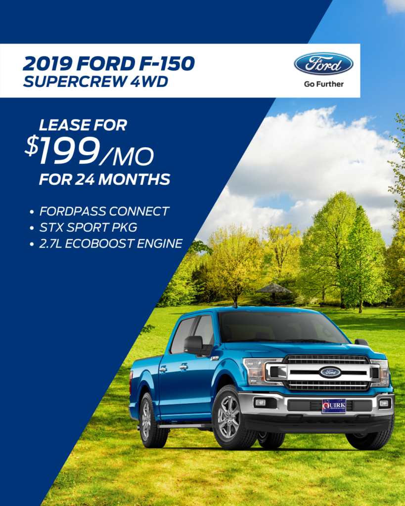New 2020 Ford F-150 SuperCrew 4WD