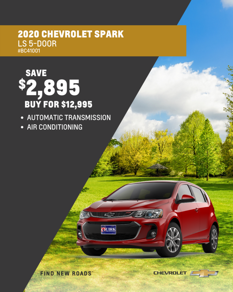 New 2020 Chevrolet Spark LS FWD Hatchback