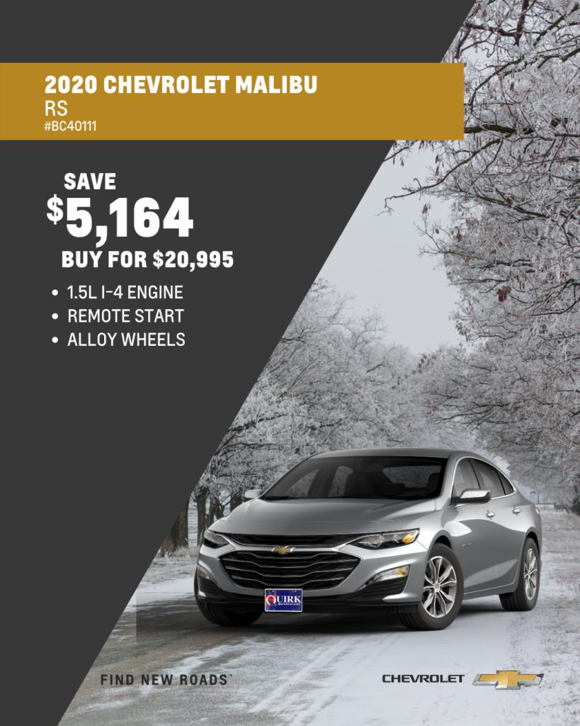 2020 Chevrolet Malibu RS 4DR
