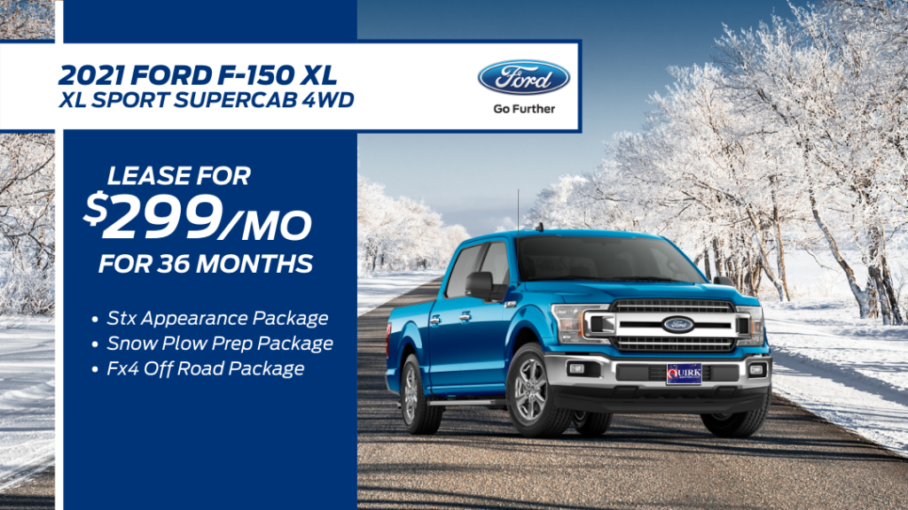 New 2021 Ford F-150 XL 4WD