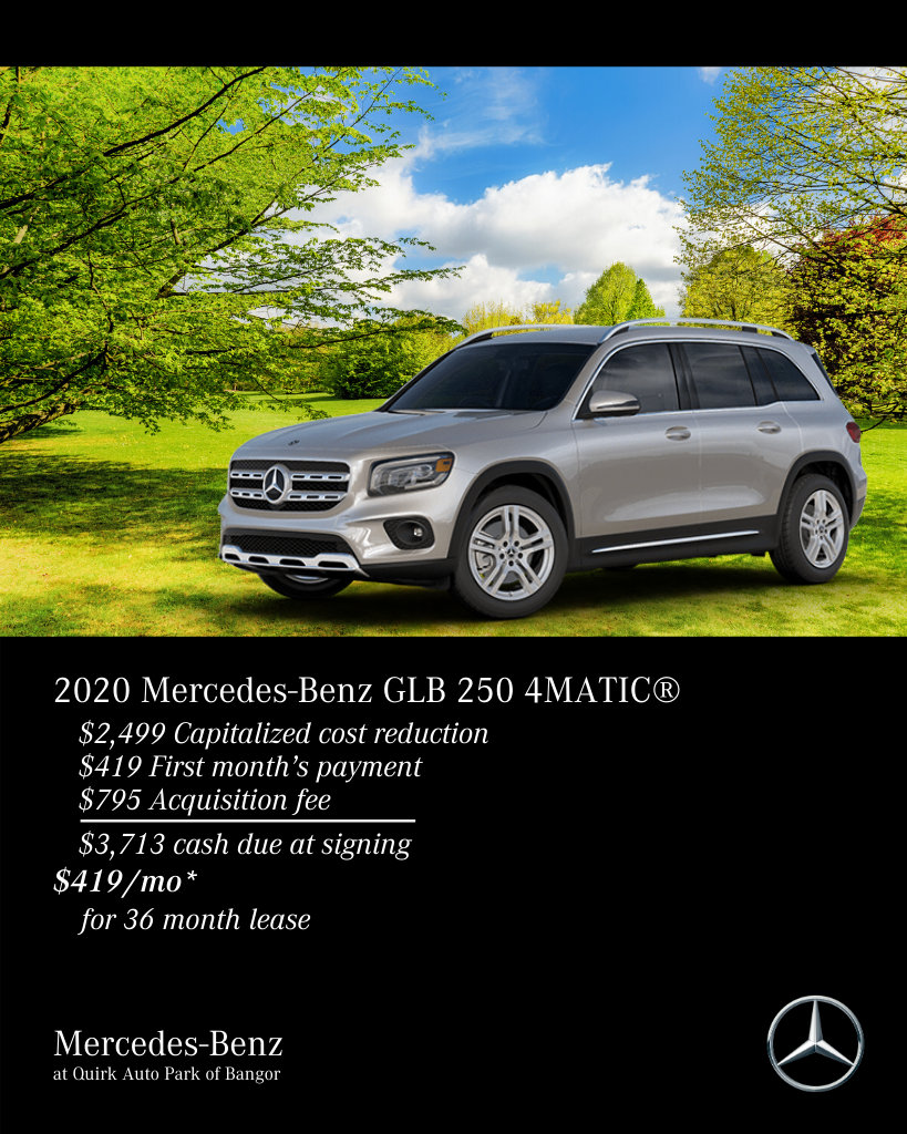 New 2020 Mercedes-Benz GLB 250 4MATIC® AWD