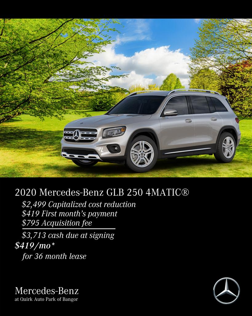 New 2020 Mercedes-Benz GLB 250 4MATIC® AWD