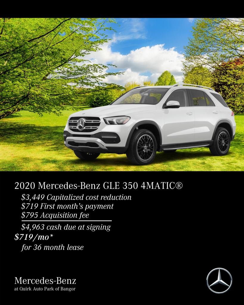 2020 Mercedes-Benz GLE 350 AWD 4MATIC®